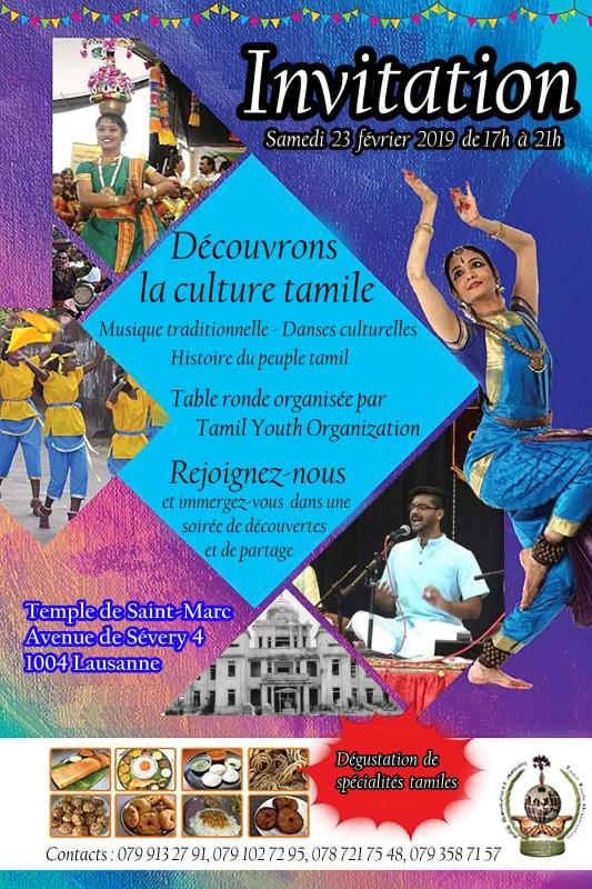Decouvrons la Culture Tamile